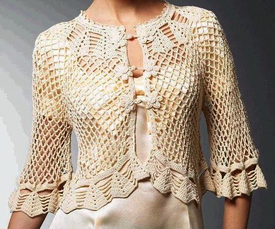 bolero crochet elegant (6)