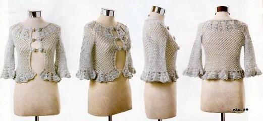 bolero crochet elegant (8)