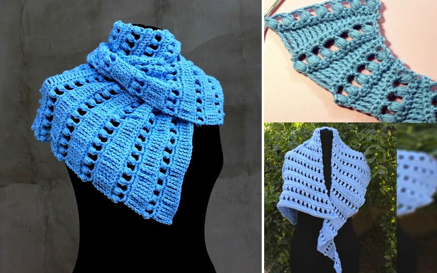 chal crochet bonito