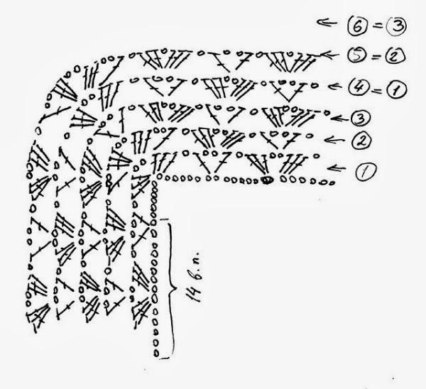 crochet blusa com patrones (7)