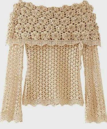 crochet blusa com patrones (9)