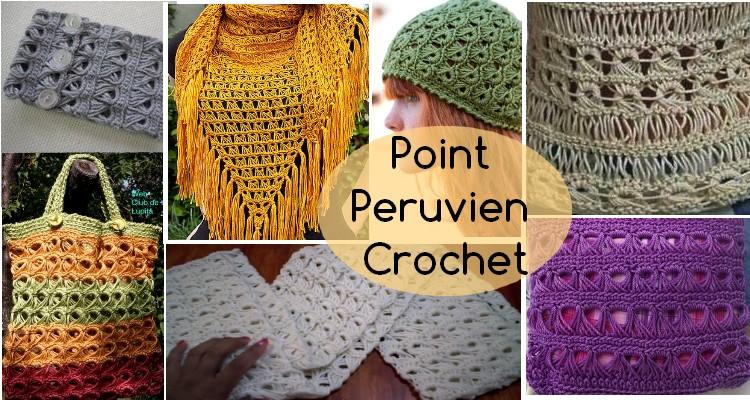 ponit peruvien crochet