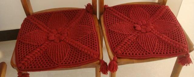 housse de chaise en crochet crochet et plus crochet et. Black Bedroom Furniture Sets. Home Design Ideas