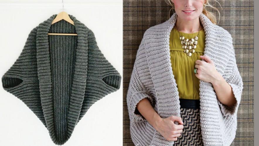 cardigan au crochet facile full zip sweater. Black Bedroom Furniture Sets. Home Design Ideas