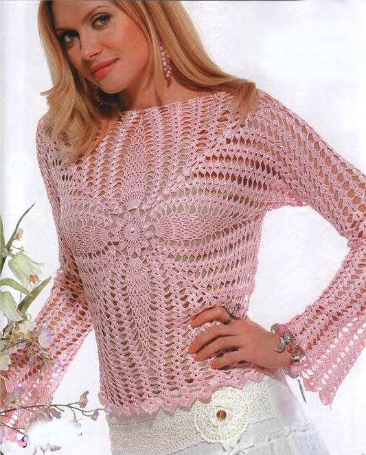 Use Chrome for images !!! - incroyable-blouse-au-crochet-2