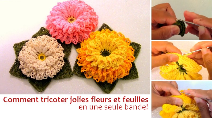 fleurs au crochet